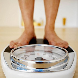 gewicht aankomen
